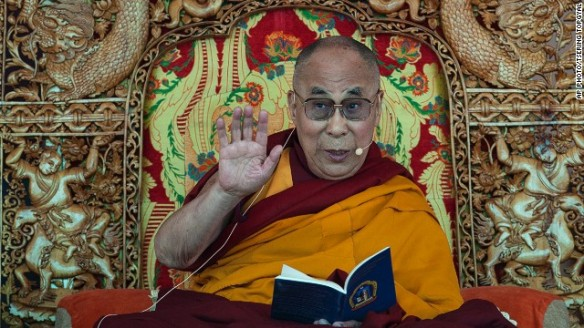 The Dalai Lama. Photo from cnn.com